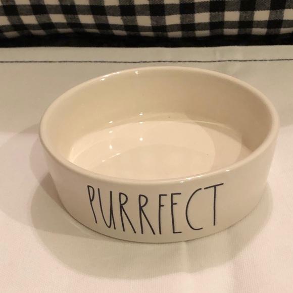 Rae Dunn PURRFECT cat bowl